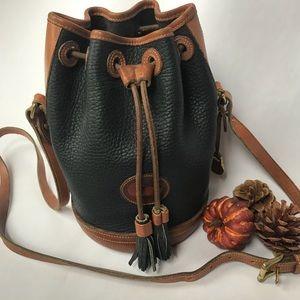 Vintage Dooney & Bourke Hand Fitted Drawstring Bag
